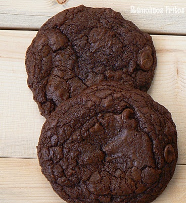 Double chocolate chunk cookies. Delicious!!