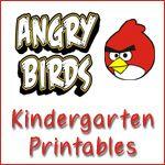 Angry Birds UnitBirds Theme, Kindergarten Pack, Kindergartens, 1111, Birds Kindergarten, 1 1 1 1, Kindergarten Wkrash, Angry Birds, Kindergarten Printables