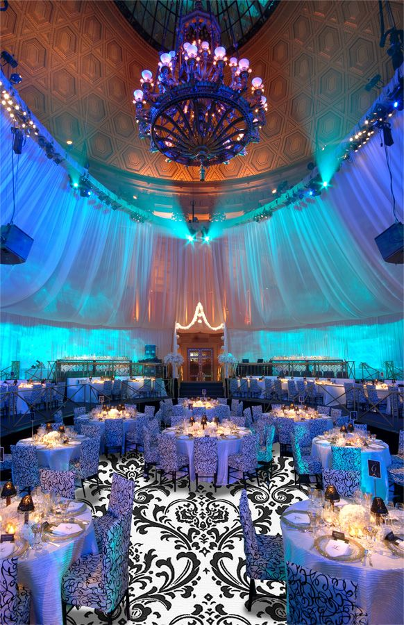 -gorgeous event lighting - lighting on walls & canopies<3