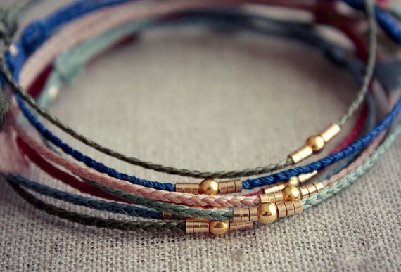 Original Shiloh / Pink Friendship Bracelet with Woven by Riemke