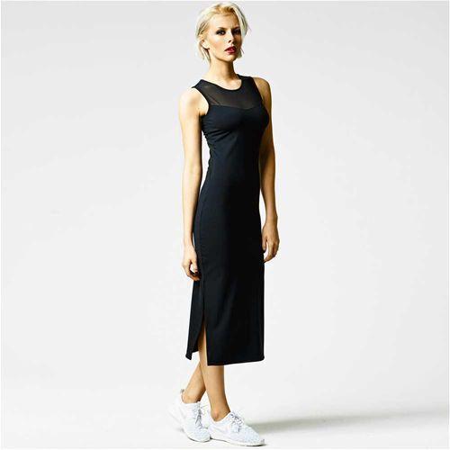 Mesh maxi dress, we all need some perfect black basics.