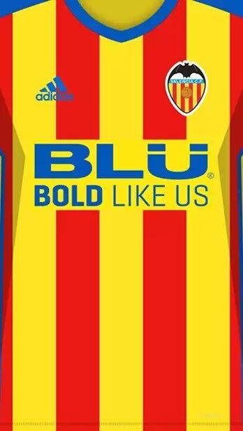 Valencia CF 17-18 kit away  027e8f2db2646