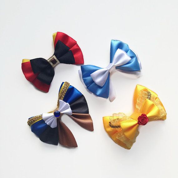 Transform Into Your Favorite Disney Character With Disney Hair Bows!