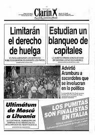 Image result for tapas de diarios años 90