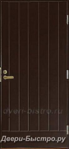 Межкомнатная дверь Входная финская дверь MATTIOVI UOH H10 Темно коричневая