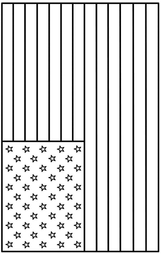 25+ Beautiful Photo Of Flag Coloring Pages - Entitlementtrap.com American  Flag Colors, American Flag Coloring Page, Flag Coloring Pages