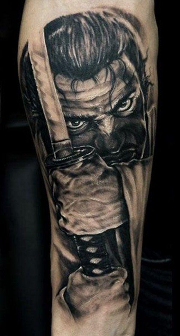 35 Best Warrior Tattoo Designs