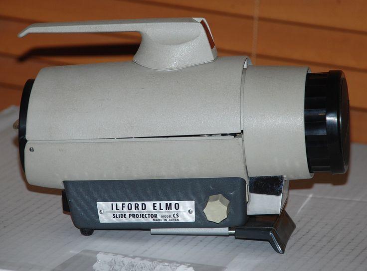 Vintage Ilford Elmo Slide Projector C1960s w Original Box - http://justoffprice.com/product/vintage-ilford-elmo-slide-projector-c1960s-w-original-box/