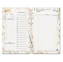 FranklinCovey Blooms Dated Daily Planner Refill, January-December, 4-1/4 x 6-3/4 -  2015