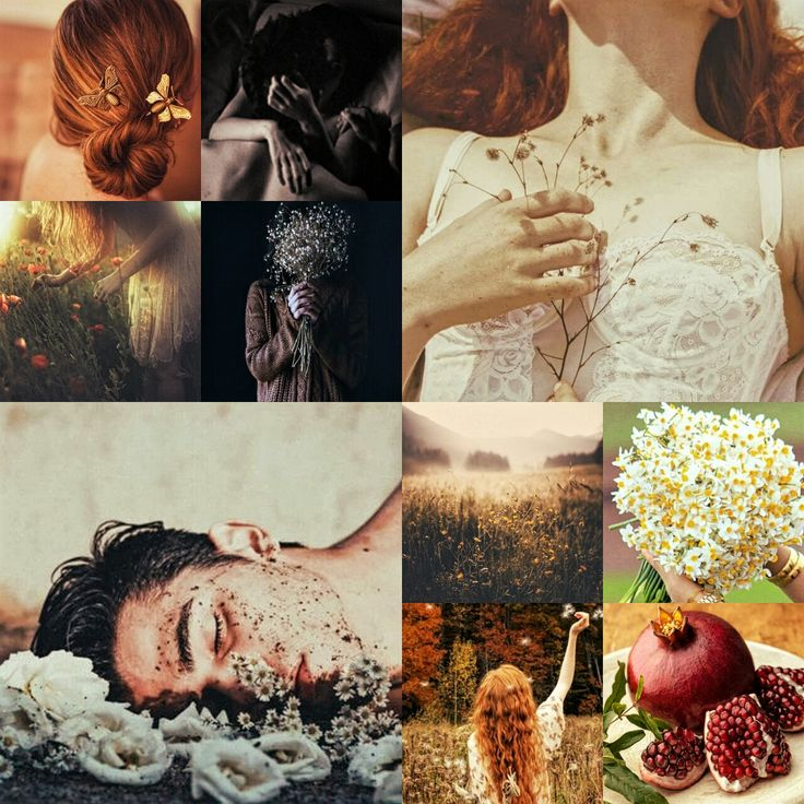 ~Hades and Persephone ~ aesthetic