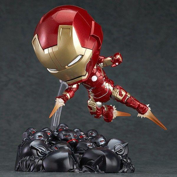 ToyzMag.com » Nendoroid Iron Man Mark 43: Hero's Edition + Ultron Sentries Set