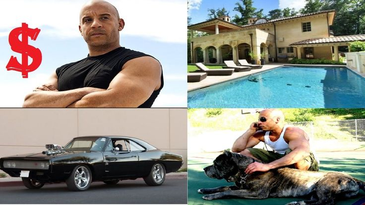 Vin Diesel's Biography Net worth House Car Pets 2016. Born on: 18th Jul 67 Born in: Dominican Republic Marital status: Married Occupation: Actor Hollywood Vin Diesel net worth is estimated at $75 million. A Hollywood superstar 48 Vin Diesel is well known as the dashing macho actor. Though Vin didn't get any acting background in childhood he managed to make his unique place in Hollywood and establish the huge Vin Diesel net worth after working for 22 years. He has grown from working as…