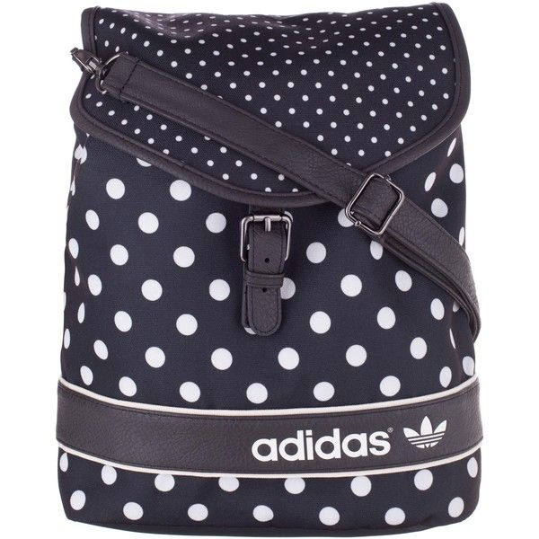 adidas Originals EF Dots Backpack ($66) found on Polyvore