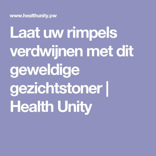 Laat uw rimpels verdwijnen met dit geweldige gezichtstoner   Health Unity