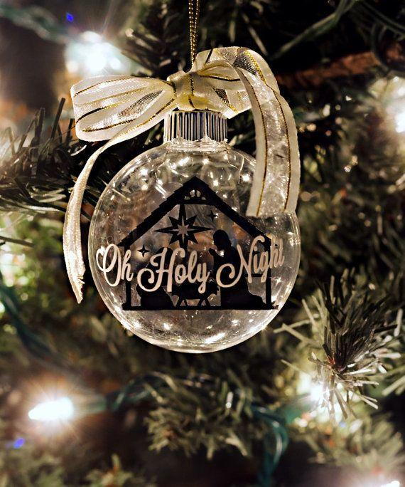 DIY Floating Nativity Ornament supply set | crafts | Pinterest ...