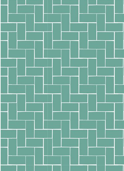 Light blue/green bricks wrapping paper from Ompak
