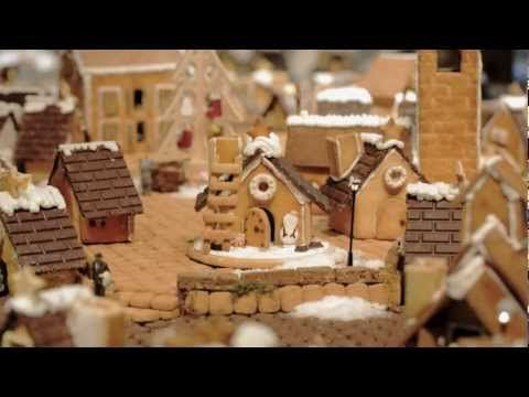 Come Tour Muji's Gingerbread 'Village,' Made of 100 Houses - Video Interlude - Curbed