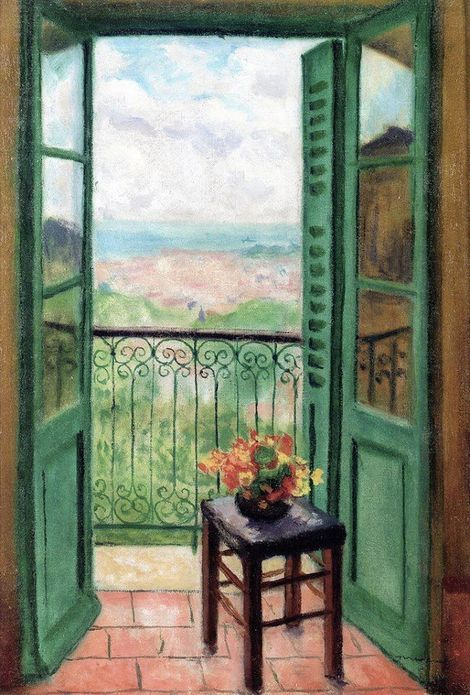 Albert Marquet - Window open on the Bay of Algiers
