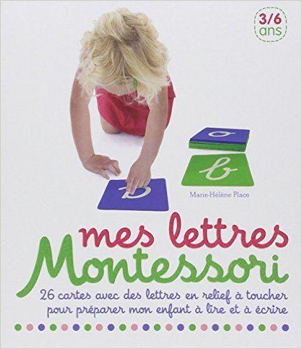 Amazon.fr - Mes lettres Montessori - Collectif - Livres