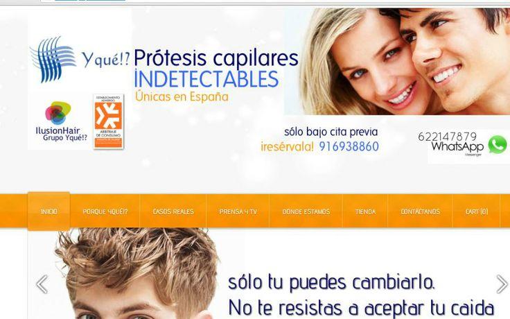 protesis capilares Yqué!? Centro Capilar www.yque.com.es