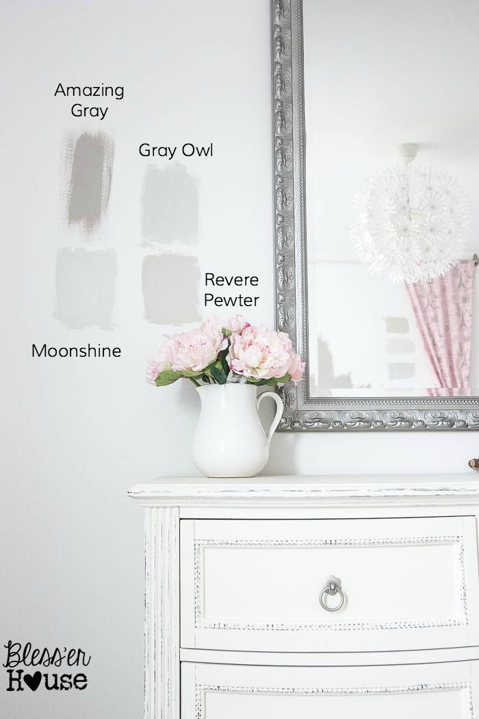 8 steps to choosing the perfect paint color house for Perfect neutral gray paint