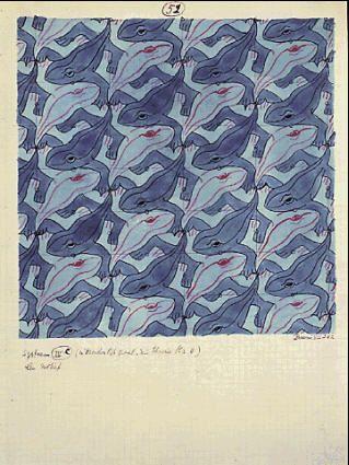 M.C. Escher – Frog (No. 51)