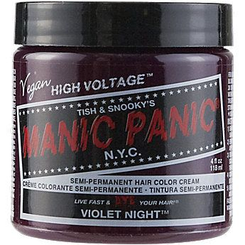 Manic Panic Semi-Permanent Color Cream Violet NightViolet Night Manic Panic