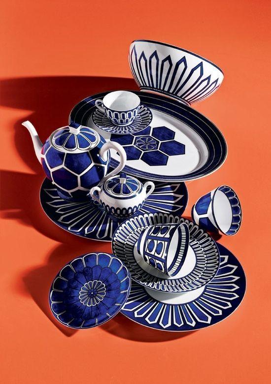Mum's Hermes plate!