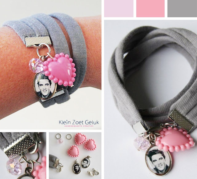 Zpagetti: Armband 'Elvis'. Like the idea, perhaps not the Elvis charm though