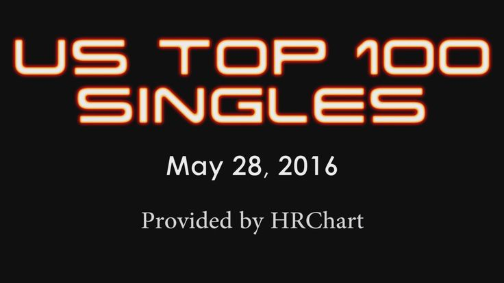Top 100 songs of May 28, 2016 – Billboard Hot 100 Chart