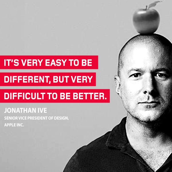#ThoughtOfTheWeek for May 11 2015 from Jonathan Ive #quote #apple