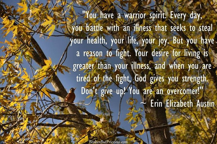 You have a warrior spirit!