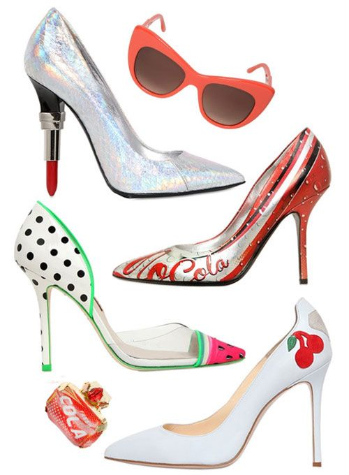 2065 best polka dotted shoes! images on Pinterest
