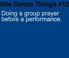 Little dance things oh my favorite thing about my old studio!:) love dance!