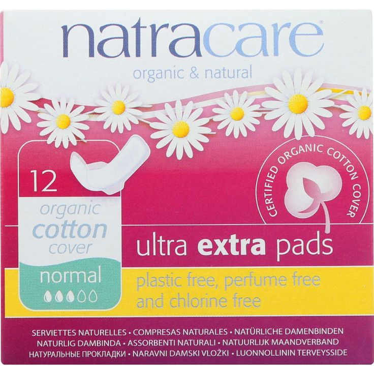 Natracare Ultra Extra Pads w/wings - Normal - 12 Count - Natracare Ultra Extra Pads are a super soft, extra absorbent version of our ultra pad with a double absorbent cellulose core to keep you dry. Secured with wings to help them fit securely, a soft certified organic cotton next to the skin and a waterproof plant based back and a double absorbent cellulose core to keep you dry. Free from perfumes and dyes, Natracare Ultra Extra Pads are Plastic free, totally chlorine free (TCF )…