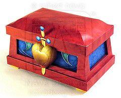 #disney Wicked Queen's Heart Box paper craft