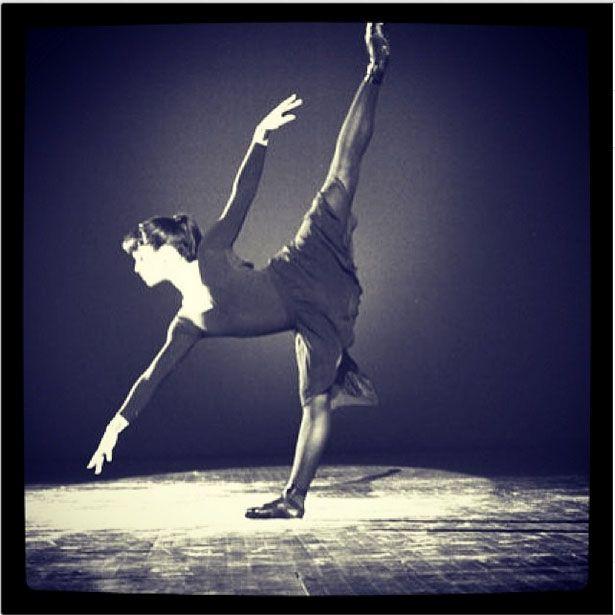 Mayte Garcia dancing