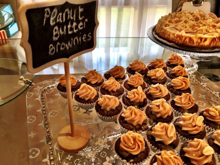 Peanut butter brownies/ dessert inspired range see thameen