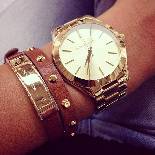 MK purses and watches
