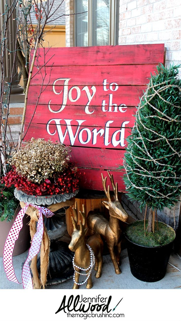 39 best images about christmas outdoor decor on pinterest for Best paint for yard art