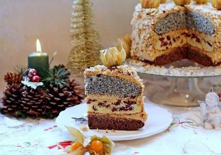 Трехцветный торт - пошаговый рецепт с фото: Наверное, у каждой хозяйки есть свои любимые и проверенные годами рецепты, и тем более рецепты тортов, которые пекли их мамы... - Леди Mail.Ru