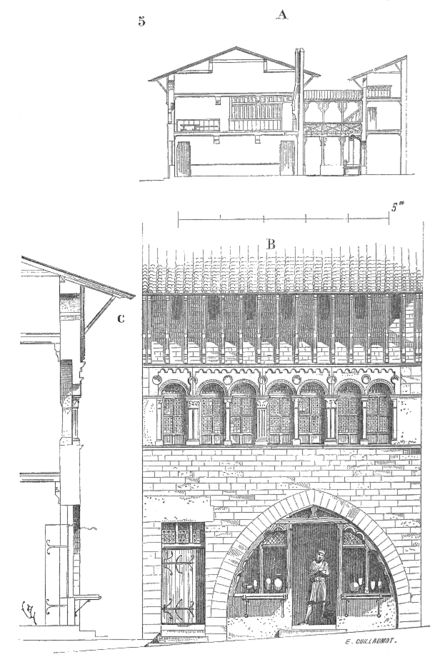 Castel pinterest for Dictionnaire architecture