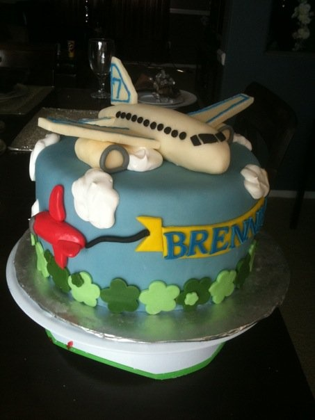 Airplane Cake - perfect for Bridger