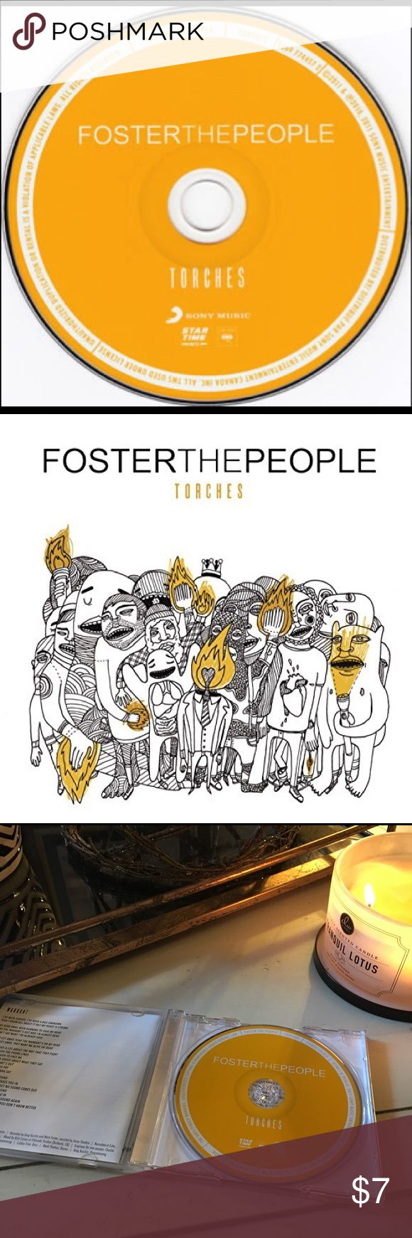 "Foster The People Torches EUC - Well taken care of - Torches is the soundtrack for an eternal summer. Produced by Paul Epworth (Adele + Florence and the Machine), Rich Costey (Muse + Interpol), and Greg Kurstin (Beck + Red Hot Chili Peppers), Torches delivers on both the promise of their breakthrough chart-topping single Pumped Up Kicks and the promise of this young band out of Los Angeles. ""We just want people to feel better about their lives."" Foster The People are a fresh evolution of…"