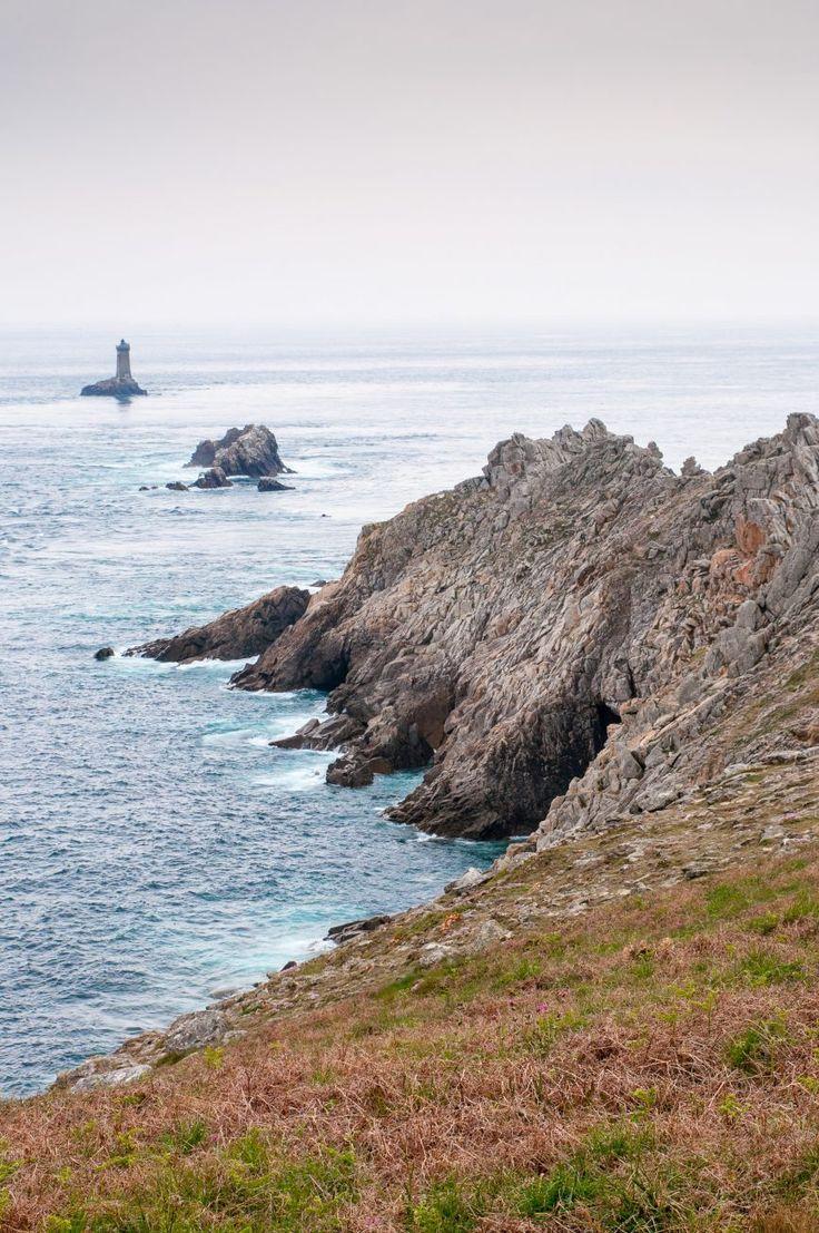 La pointe du raz dans le Finistère en Bretagne - France