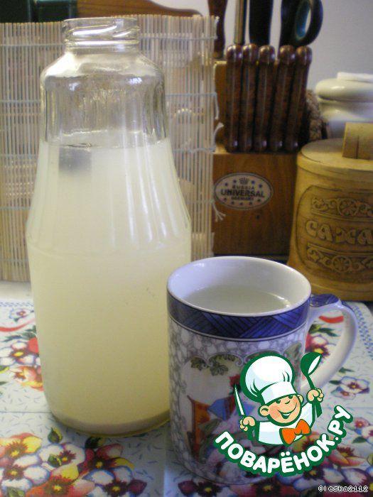 Квас рисовый ингредиенты