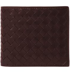 Bottega Veneta intrecciato leather wallet. Possible bday gift for hunny bun