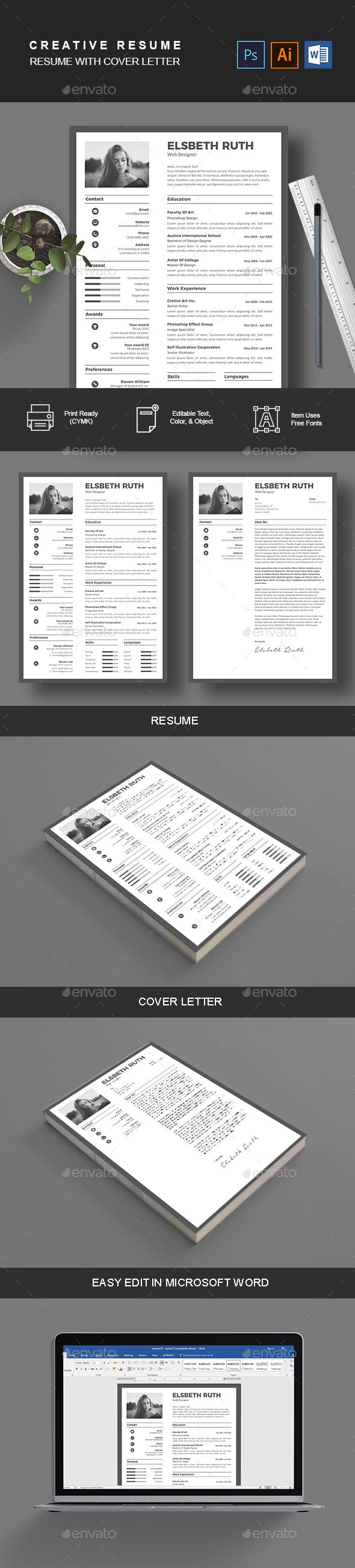 Resume & Cover Letter - Resumes Stationery