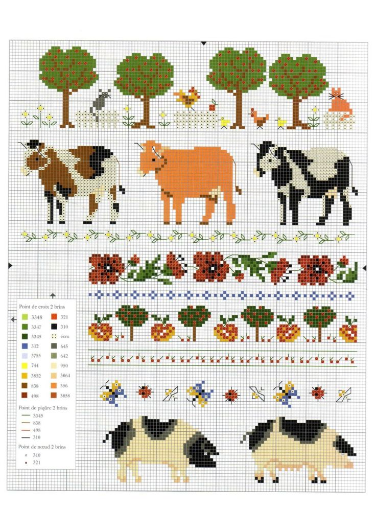 14 Best Cross Stitch Images On Pinterest Punch Needle