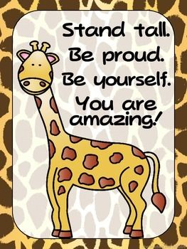 """FREEBIE - Zoo Animals Positive Quote Posters {Jungle Safari Theme}Inspire your students with these posters.There are 4 in this set.Check my store to complete your classroom zoo themed look and for other great items!Please click """"Follow Me"""" to be able to receive updates on new great products and freebies!"""